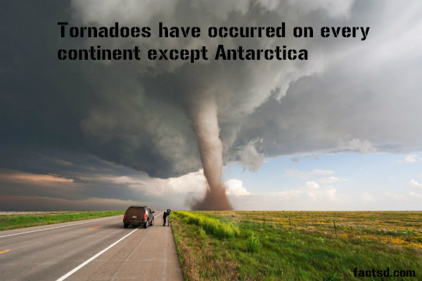 Tornado Facts - Interesting facts about tornadoes