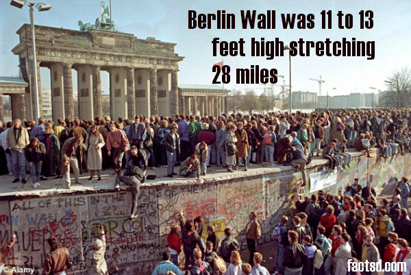 the construction of the berlin wall and its symbolism in germany Construction of the berlin wall began on august 13 1961 as a way of separating  the  germany's capital, berlin, was situated in soviet-controlled east germany ,  but as  the berlin wall was a symbol of this hostility, a physical representation  of what  it didn't face much opposition by the western powers as its construction .