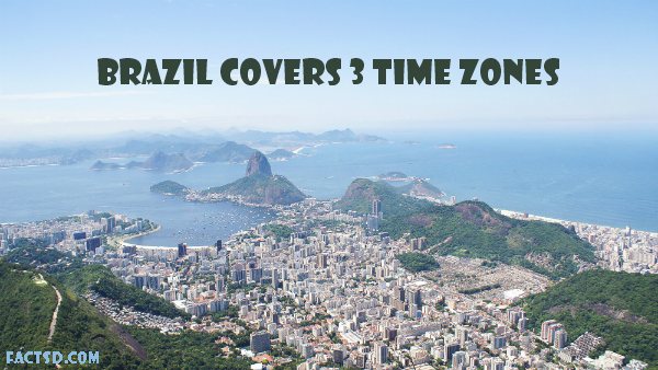 Brazil has a coastline of 7,491 km and it has bounded by the Atlantic Ocean  on the east. The country has bordered by all other South American countries  ...