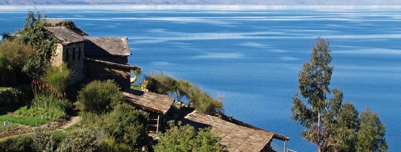 lake titicaca of peru