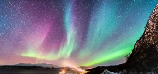 a stunning sightings of an aurora