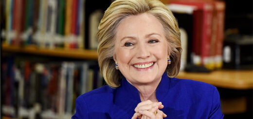 Hilary Clinton smiling