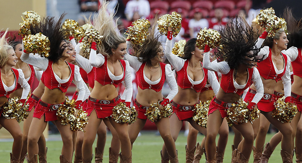 dancing NFL cheerleaders