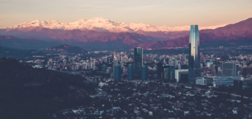 Santiago, Chile's capital and largest city